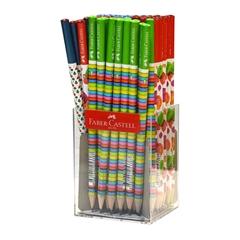 Grafitni svinčnik Faber-Castell Bubble, 72 kosov