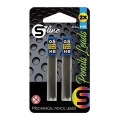 Mine za tehnični svinčnik S-Line, 2 kosa