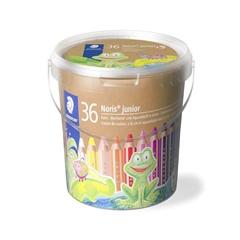 Barvice Staedtler Noris Buddy, debele, 36 + 3 kosov, v plastični embalaži