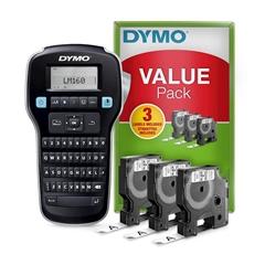 Tiskalnik nalepk Dymo LMR-160 QWY + 3 traki (SO720530), s tipkovnico