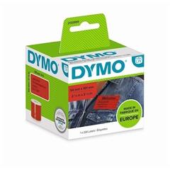 Nalepke Dymo 2133399, 101 x 54 mm, original, rdeče