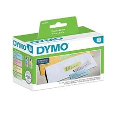 Nalepke Dymo 99011, 89 x 28 mm, original, sortirano