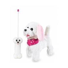 Lucky RC Furry Dog Jamara, daljinsko voden, belo roza
