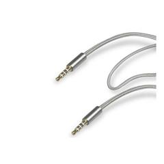 Audio kabel SBS, jack (3,5 mm), srebrn