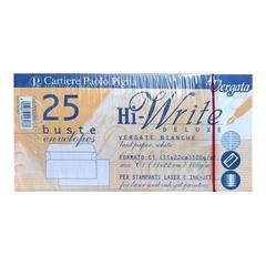 Kuverta amerikanka, 220 x 110 mm, brez okenca, 25 kosov, 100 g, bela