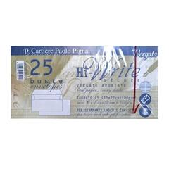 Kuverta amerikanka, 220 x 110 mm, brez okenca, 25 kosov, 100 g, ivory