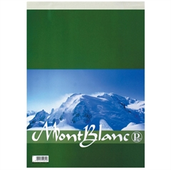 Blok Pigna Mont Blanc, A4, 70 listov, črte