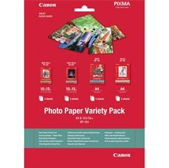 Komplet foto papirja Canon VP-101S, 10 x 15 cm in A4, 20 listov, 10 kosov