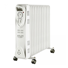 Oljni radiator Adler AD7811, 2500W, siv