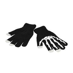 Rokavice Touch Gloves, pletene, črne